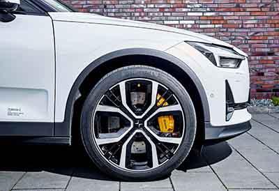 Neumático Continental en vehículo eléctrico