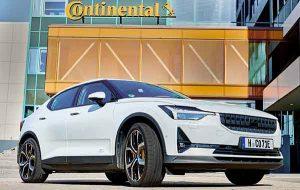 Vehículos eléctricos con neumáticos Continental
