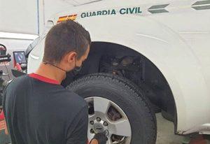Bridgestone sproveedor de neumáticos de la Guardia Civil