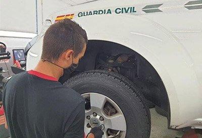 Bridgestone proveedor de neumáticos de la Guardia Civil por cuarta vez