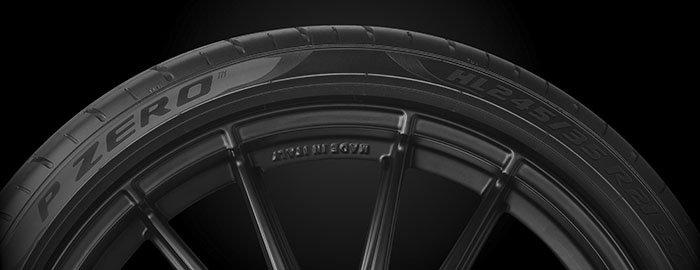 Neumático con indicativo HL