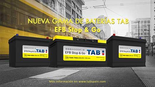 Nueva gama EFB Stop&Go