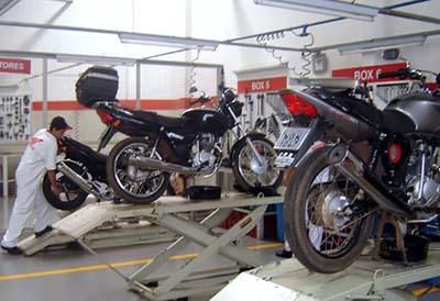 Mantenimiento de neumáticos para moto