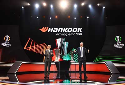 Hankook with UEFA