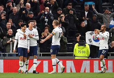 patrocinio del Tottenham Hotspur