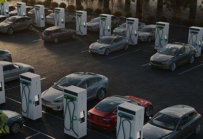 infraestructura de recarga de vehículos eléctricos