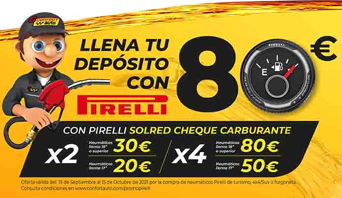 compra de neumáticos Pirelli