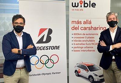 Firma Bridgestone y Wible 2