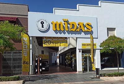 Nuevo taller de Midas en Valdepeñas