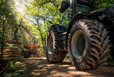 Nuevo neumático forestal Nokian TR Forest 2 para condiciones exigentes