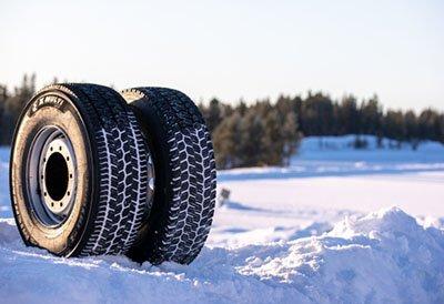 Nuevo neumático de camión Michelin X Multi Grip para condiciones invernales severas