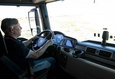 Una conducción eficiente ayuda a ahorrar al transportista
